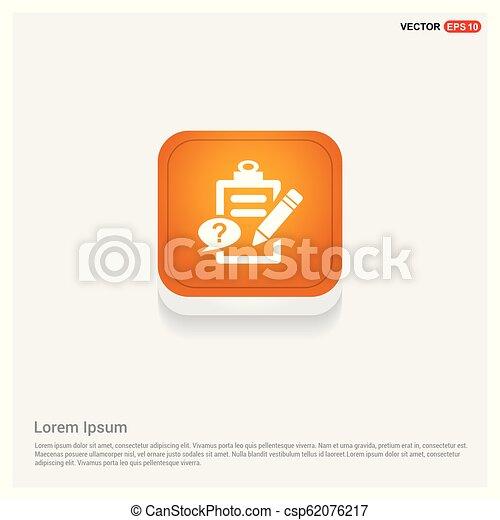 Check list ok Icon - csp62076217