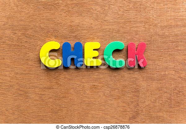 check  - csp26878876
