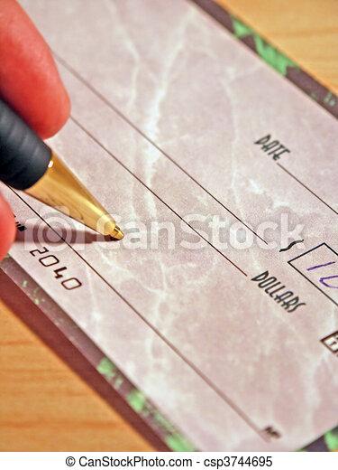 Check Signing - csp3744695