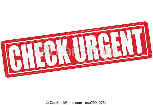 Check urgent - csp20940761
