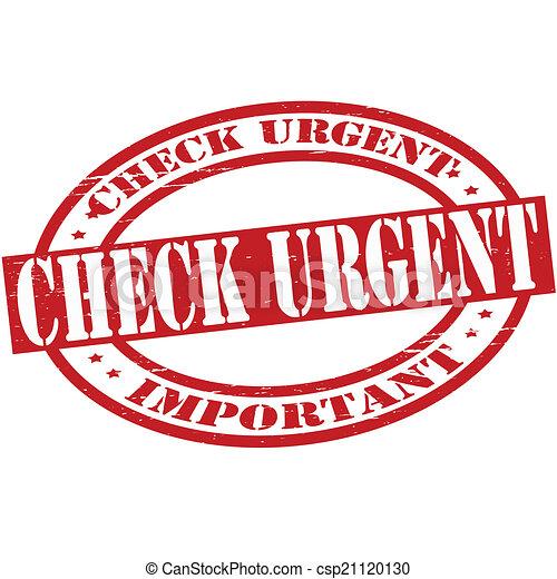 Check urgent - csp21120130