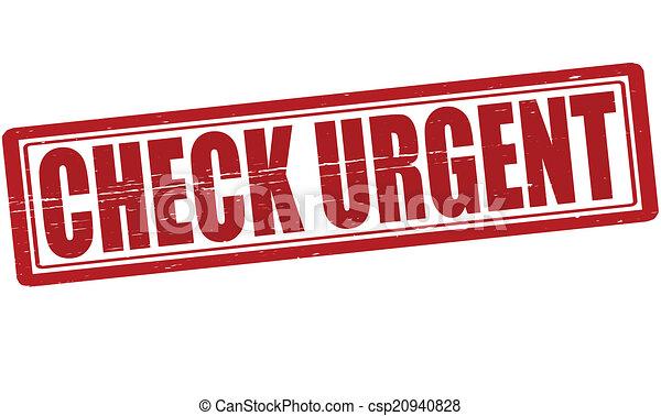 Check urgent - csp20940828