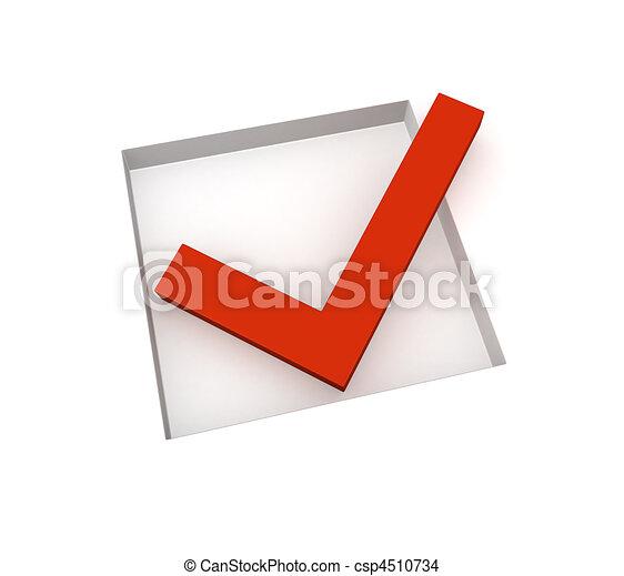 Checkbox - csp4510734