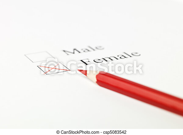 Checkboxes regarding gender - csp5083542