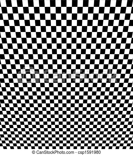 Checkerboard Perspective - csp1591980
