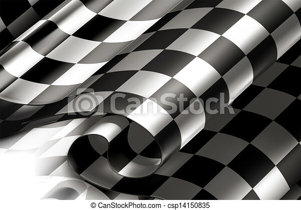Checkered Background horizontal, 10eps - csp14150835