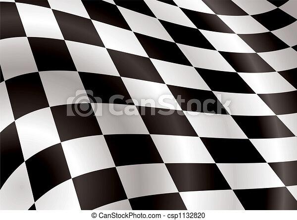 checkered flag bellow - csp1132820