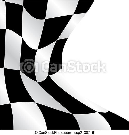Checkered flag - csp2130716