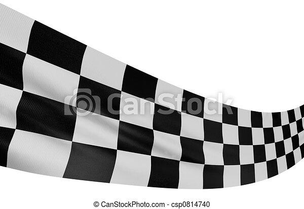 Checkered Flag - csp0814740