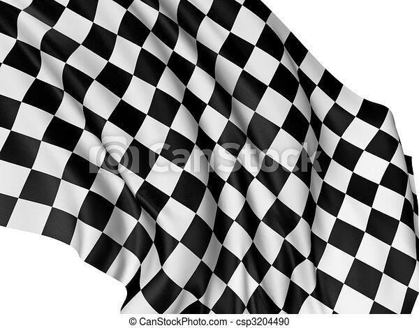 Checkered Flag - csp3204490