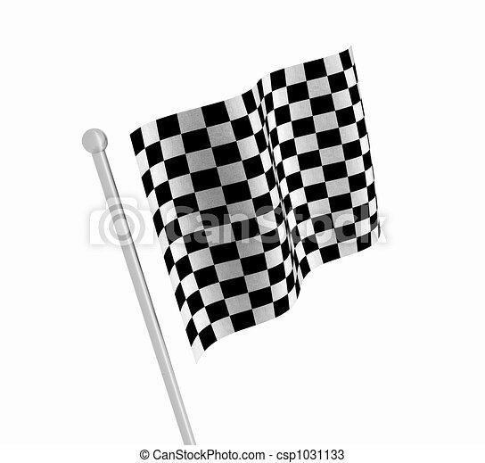 Checkered flag - csp1031133
