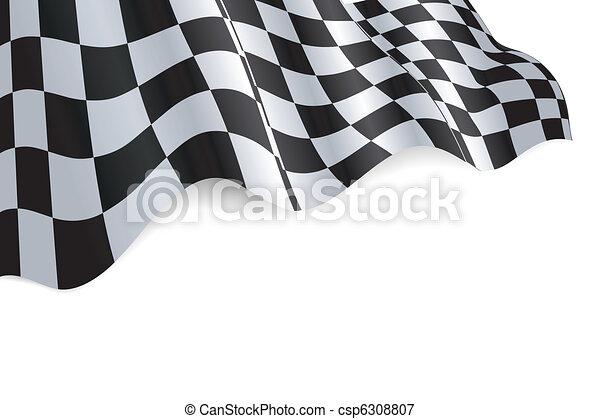 Checkered Flag - csp6308807