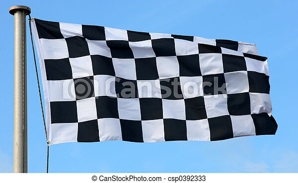 Checkered Flag - csp0392333