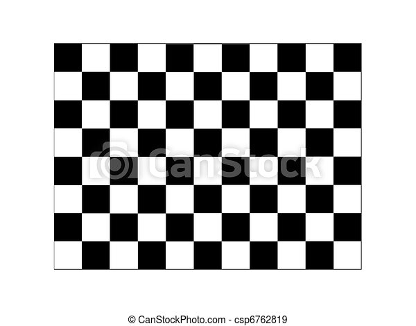 Checkered Illustration - csp6762819