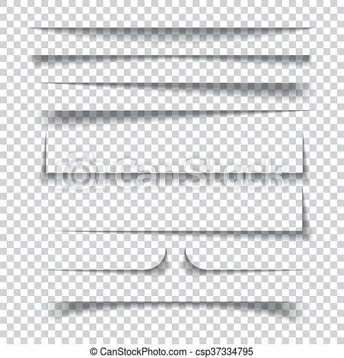 Checkered, papier, effekte, hintergrund, schatten, durchsichtig ...