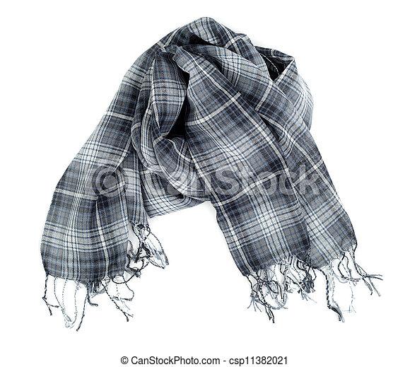 Checkered scarf - csp11382021