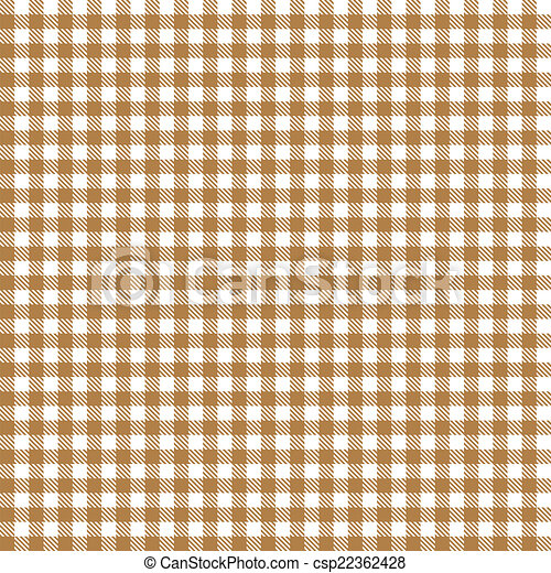 Superieur Checkered Tablecloth Pattern BROWN   Endlessly   Csp22362428