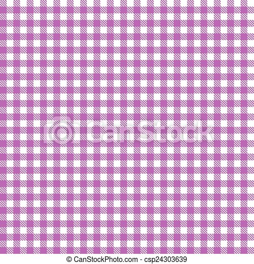 Checkered Tablecloth Pattern PURPLE   Endlessly   Csp24303639
