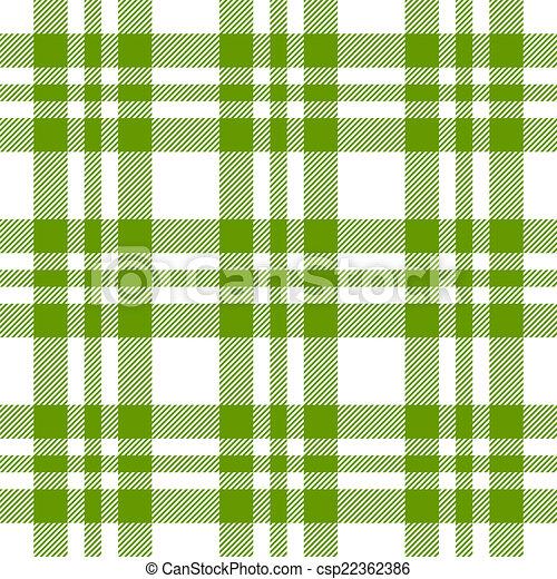 Checkered Tablecloths Pattern GREEN   Endless   Csp22362386