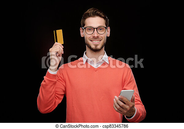 Checking credit card balance via phone app - csp83345786