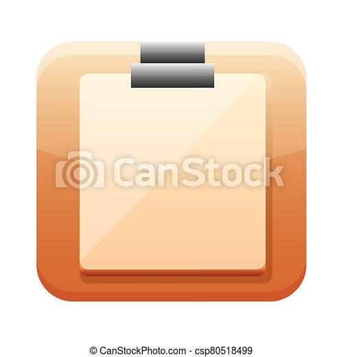 checklist app button menu isolated icon - csp80518499