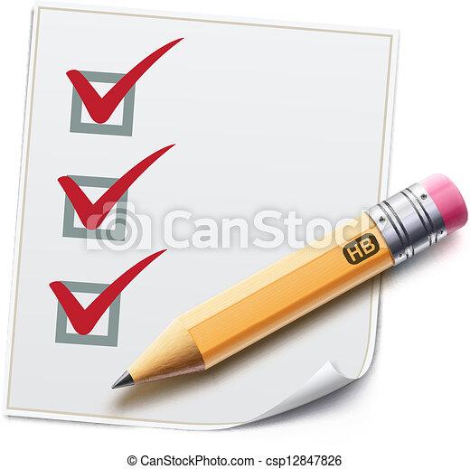 checklist  - csp12847826