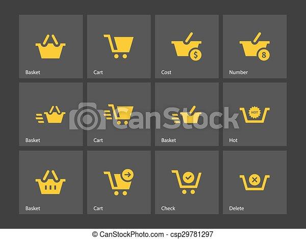 Checkout icons. - csp29781297