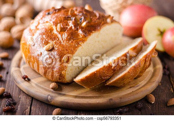 Celebración de Navidad de pastel checo - csp56793351