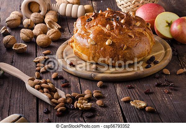 Celebración de Navidad de pastel checo - csp56793352