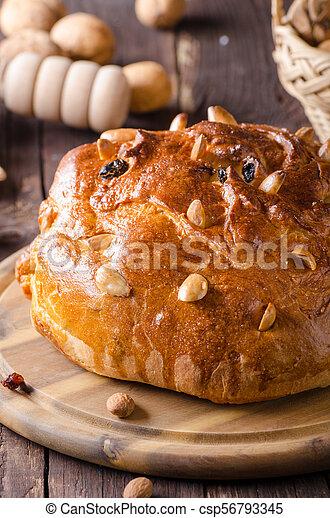 Celebración de Navidad de pastel checo - csp56793345