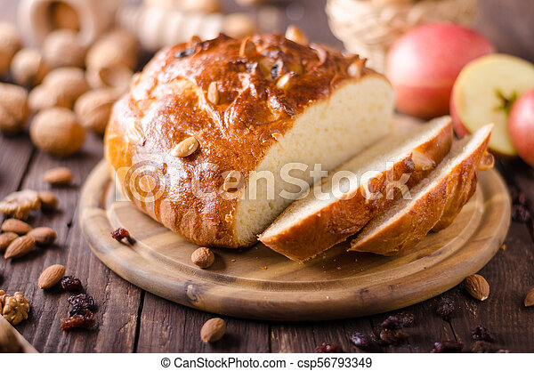 Celebración de Navidad de pastel checo - csp56793349