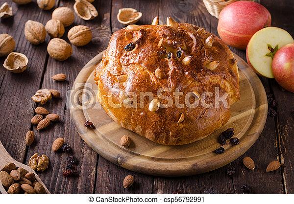 Celebración de Navidad de pastel checo - csp56792991