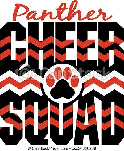 cheer, squad, panter - csp30820239