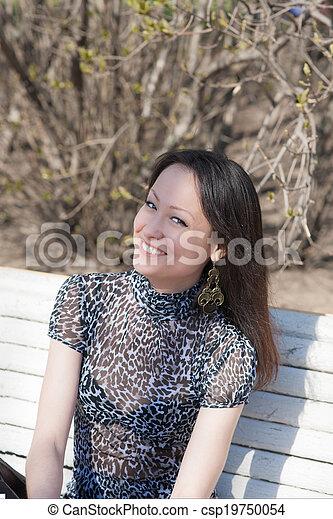 cheerful girl - csp19750054