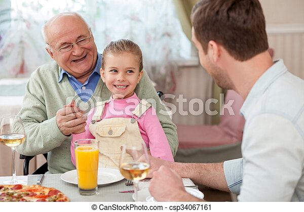 Boy old man mature