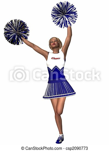 cheerleader csp2090773