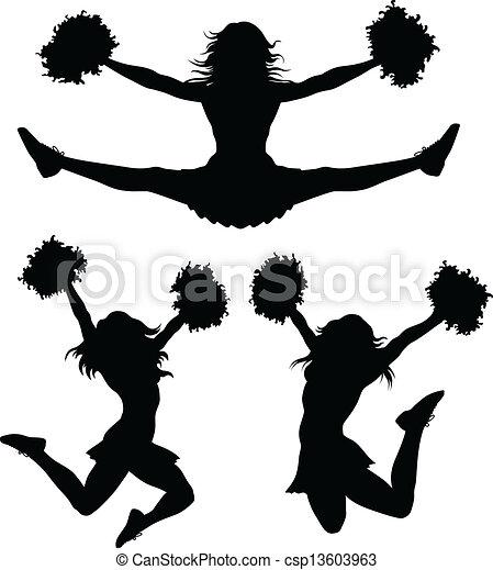 Cheerleader - csp13603963