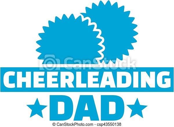 Cheerleading dad - csp43550138