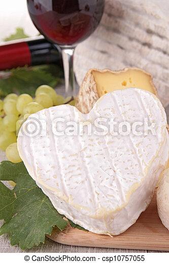 cheese and wine - csp10757055