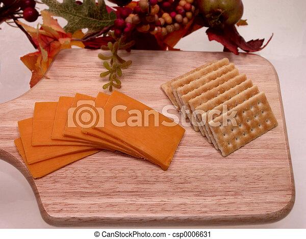 Cheese & Crackers - csp0006631