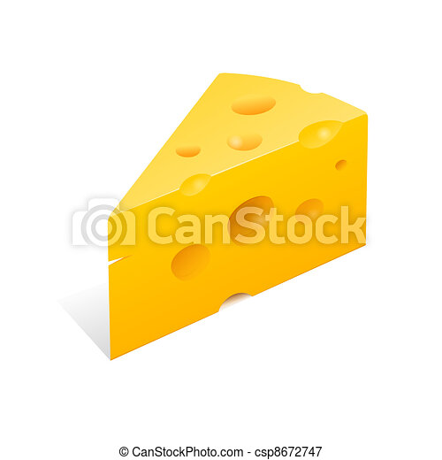 Cheese Illustration - csp8672747