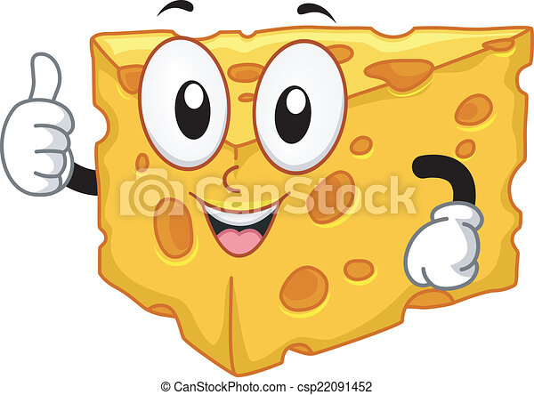 Cheese Mascot - csp22091452
