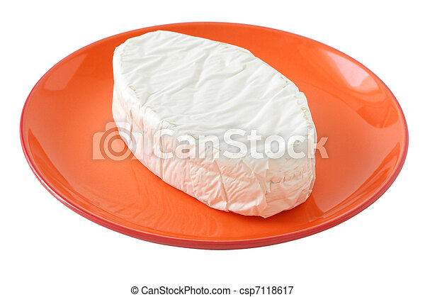 cheese on a plate - csp7118617