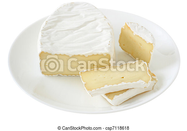cheese on a plate - csp7118618