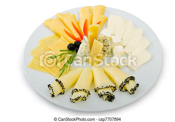 Cheese platter with selection - csp7707894