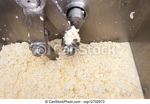Cheese production machine - csp12702973