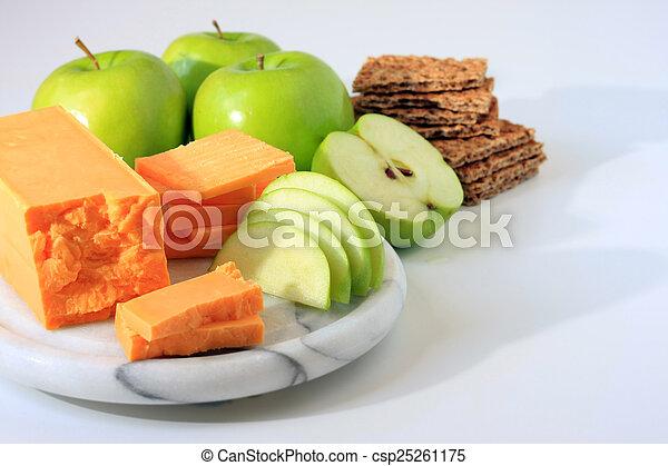 Cheese snack.  - csp25261175