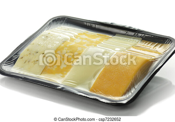 cheese tray slices  - csp7232652