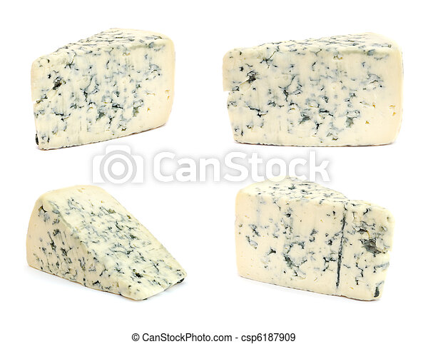 Cheese with mold - csp6187909