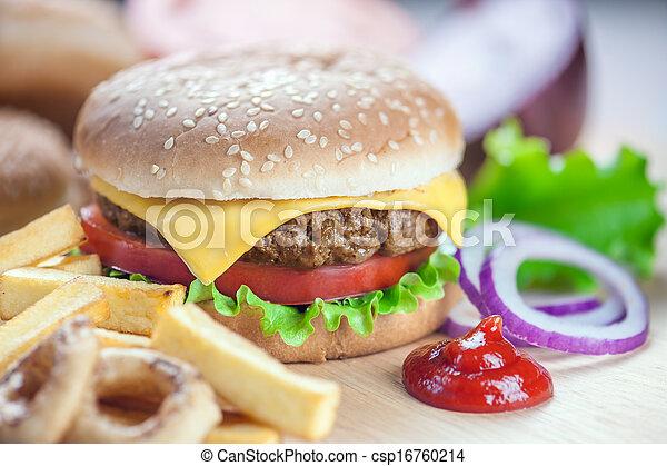 cheeseburger - csp16760214